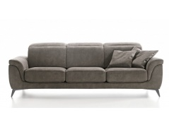 SOFA NA NÓŻKACH 3 OSOBOWA NEVERS TOP 242 cm - IMPORT WŁOCHY