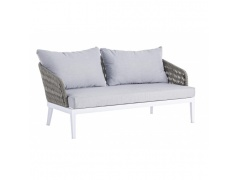 SOFA DO OGRODU PELI WHITE