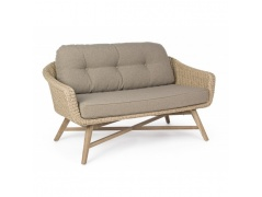 OGRODOWA SOFA 2 OS MAR NATURAL BIZZOTTO