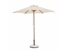 Parasol ogrodowy Syro Natural 2,5m